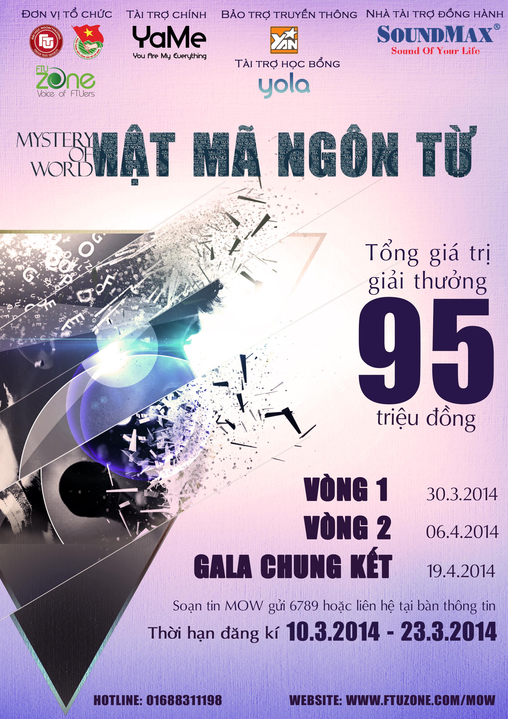 Poster mat ma ngon tu 2014