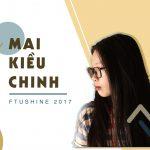 """[Top 20 FTUShine 2017] – Phạm Hồng Quyên: Khi người """"hoạ sỹ"""" chơi nhạc!"""